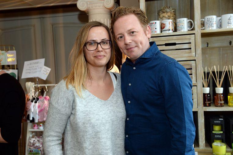 Steven De Lelie met zijn partner Katrien