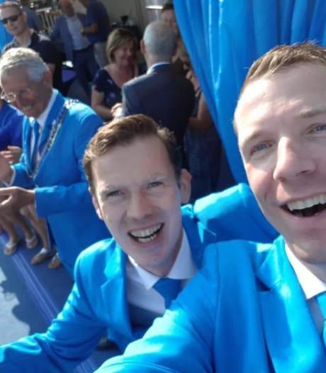 Betuwe kleurt blauw en is gastvrij voor de vierdaagsedeelnemers