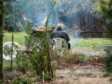 Na nieuwe brand lijkt het wel oorlog op camping De Roskam in Doornspijk