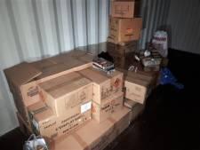 500 kilo Winterswijks vuurwerk op boerenerf in Vreden