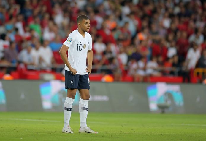 Frankrijk: Ook wonderkind Kylian Mbappé speelde bijzonder zwak.