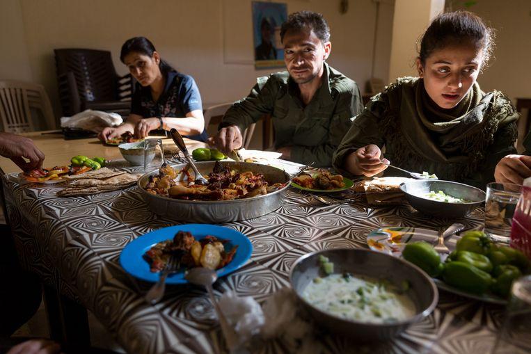 Koerden in Rojava. Beeld Ernie Buts / New World Summit
