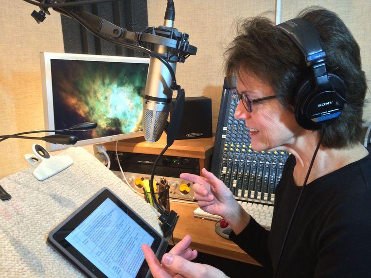 Susan Alice Bennett, de vrouwelijke Amerikaanse stem van Apple's Siri. Beeld Susan Bennett