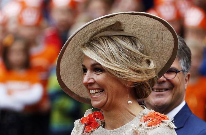 Koning Willem-Alexander, koningin Maxima.