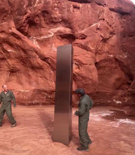 Mysterieuze monoliet in woestijn Utah opgelost in het niets