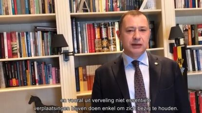 Ook in Glabbeek stijgt het aantal besmettingen door corona. Burgemeester Reekmans doet opnieuw oproep in videoboodschap: blijf thuis!