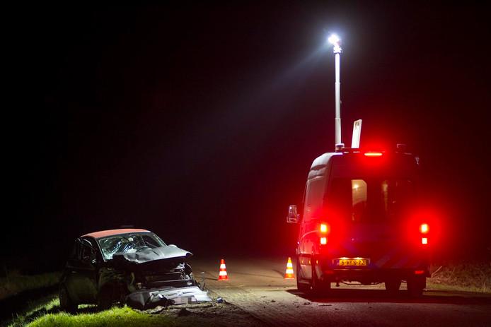 Dodelijk ongeval bij Nieuw-Namen.