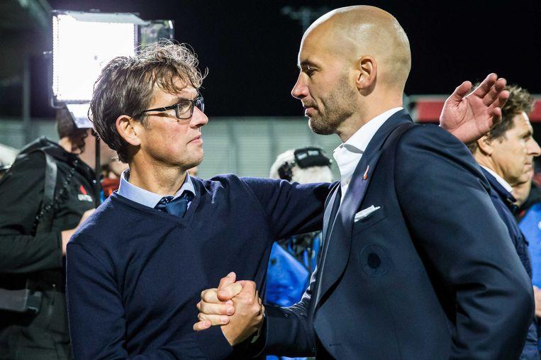 Pastoor (50), oud-trainer van Excelsior, NEC, Slavia Praag en AZ, is rotsvast in zijn geloof. Beeld ANP Pro Shots