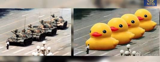 Les Mots Gros Canard Jaune Censures En Chine Monde 7sur7 Be
