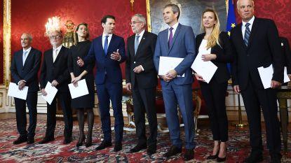 Oostenrijkse regering gaat verder als minderheidskabinet