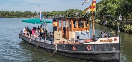 Twee pontjes tussen Gelderland en Brabant ter nagedachtenis aan Albertine