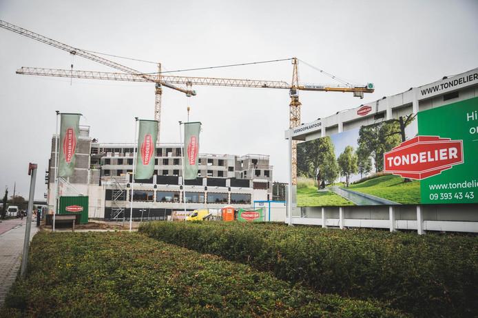 De Stad Gent en Tondelier werken samen om tussen de Gasmeterlaan en de Filips van Cleeflaan een nieuwe woonwijk te bouwen.