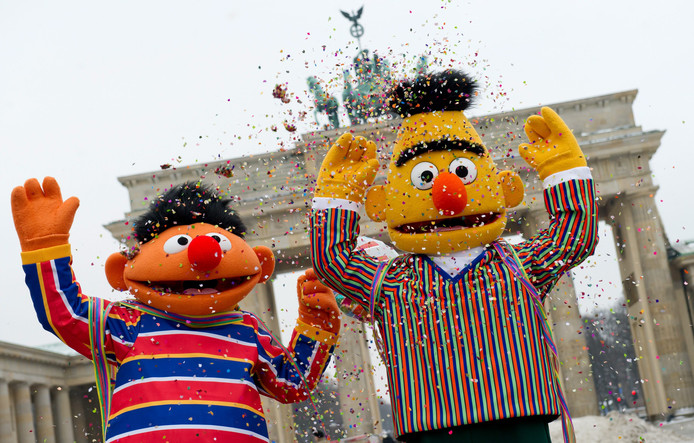 Ernie en Bert