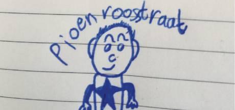 In de Pioenroosstraat in Eindhoven: Ingehaald door de overbuurkinderen