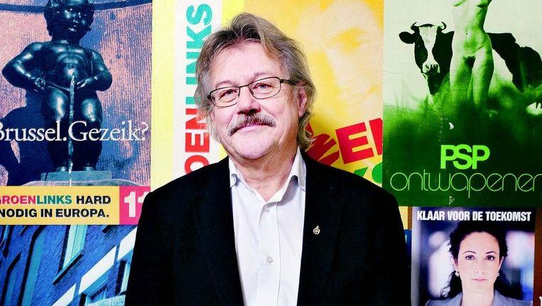 Nijhof werd in 2006 partijvoorzitter van GroenLinks. Zijn politieke loopbaan begon bij de PSP. FOTO © JÖRGEN CARIS Beeld