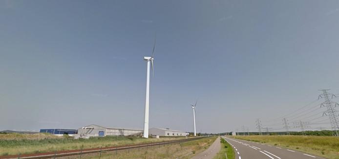 Windmolens.: Foto: Google Streetview