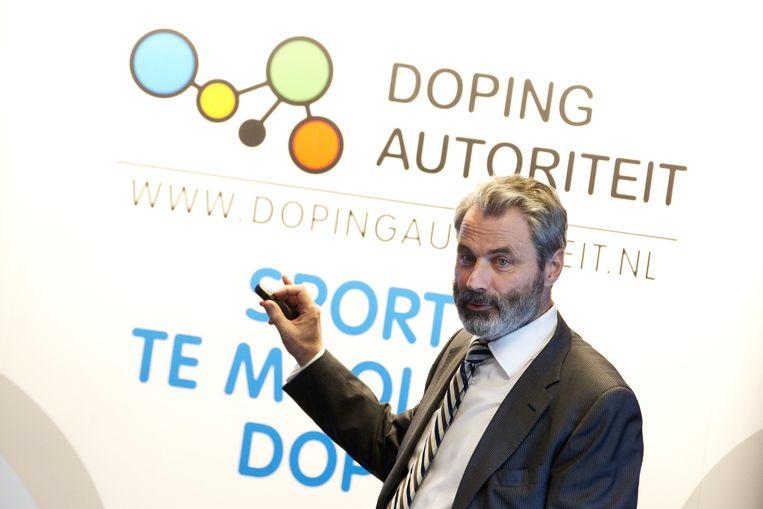 Herman Ram van de Dopingautoriteit. Beeld anp
