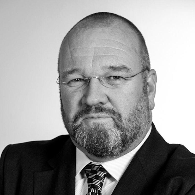 Walther Ploos van Amstel is voorzitter Wijkoverleg de Oude Binnenstad en lector City Logistiek en E-mobility aan de HvA. Beeld -