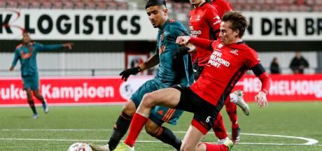 Hekkensluiter Helmond Sport lijdt tegen Jong Ajax competitienederlaag nummer zeventien