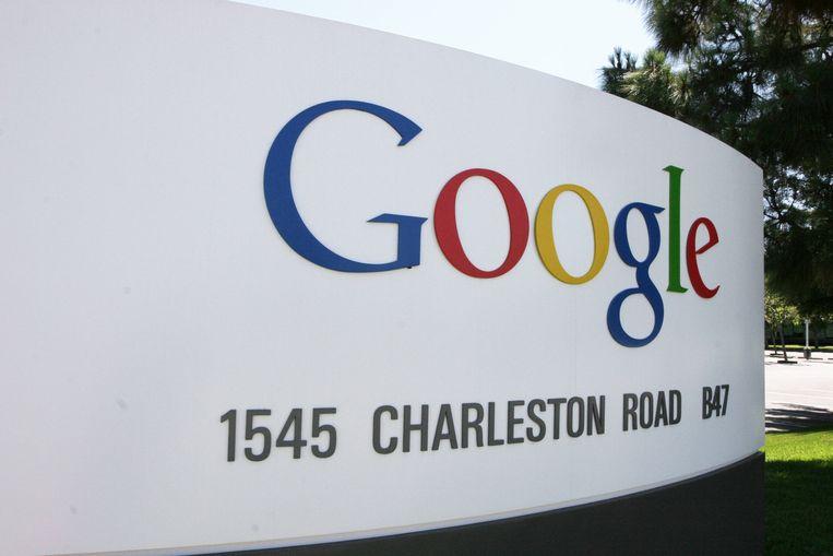 Het hoofdkwartier van Google in Silicon Valley.