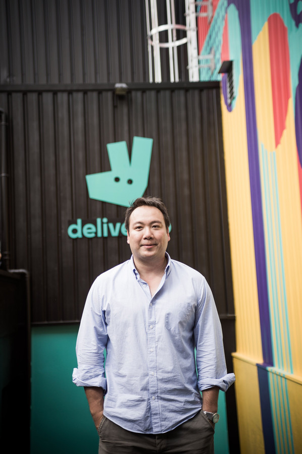 Deliveroo-oprichter Will Shu