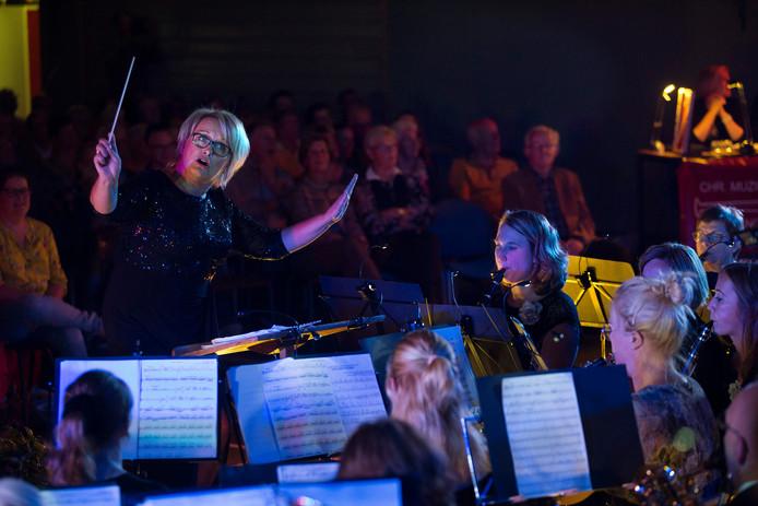 Petra Eland in actie tijdens Maestro Hengelo