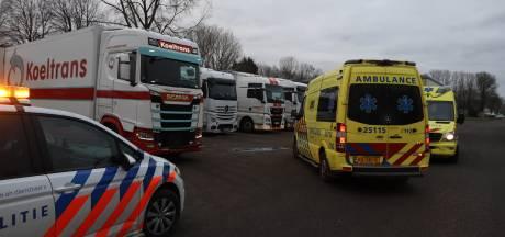Kokende chauffeur veroorzaakt explosie in cabine van vrachtwagen in Zeewolde
