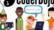 CoderDojo Belgium bestaat 1 jaar