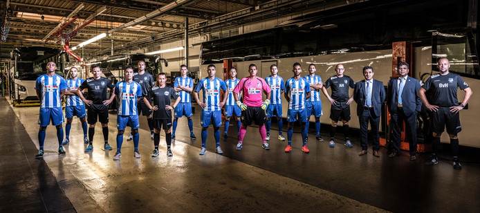 Het team van FC Eindhoven 2015-2016.
