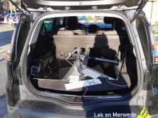 Vluchtende dief heeft in Hardinxveld-Giessendam gestolen iMacs bij zich