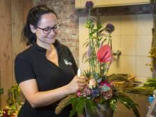 Jolanda uit Tubbergen doet mee aan het NK bloemschikken