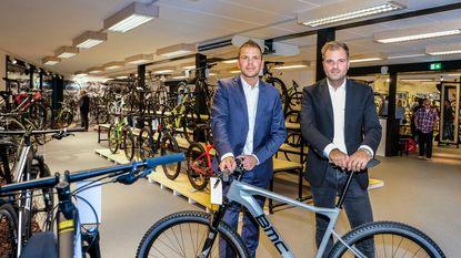 Niels Albert Bike Store: nog geen drie jaar oud en al bijna verdubbeld in oppervlakte