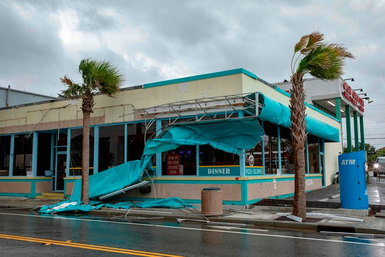 Myrtle Beach werd zwaar getroffen door orkaan Florence.