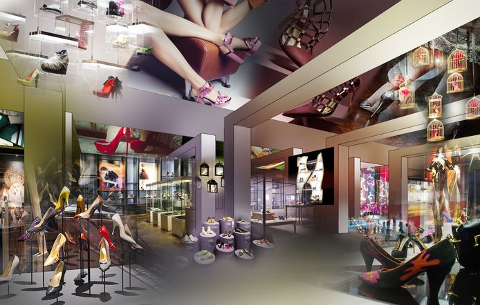 Een impressie van het toekomstige schoenenmuseum in Waalwijk