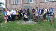 Flandrienfanaten eren Lucien Buysse in wielerdorp Wontergem