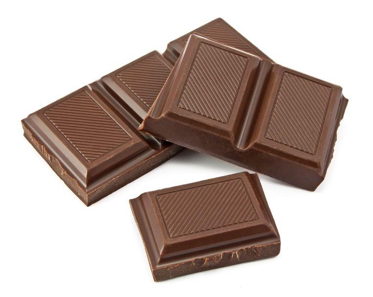 Zelfs chocolade kan dodelijk zijn.
