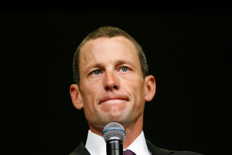Lance Armstrong. Beeld ap