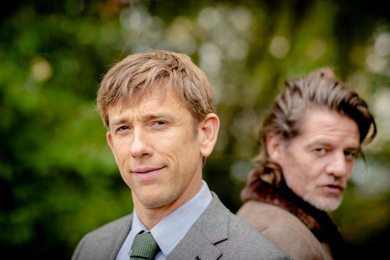 """Waldemar Torenstra noemt het """"onmogelijk"""" om in de voetsporen van Piet Römer te treden. Waldemar kruipt voor de film 'Baantjer het begin' in de huid van de jonge rechercheur Jurre de Cock, het personage aan wie Römer jarenlang gestalte gaf in de televisieserie Baantjer."""