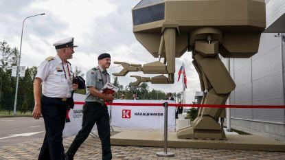 Nieuwe Russische robot 'kleine Igor' mikpunt van spot