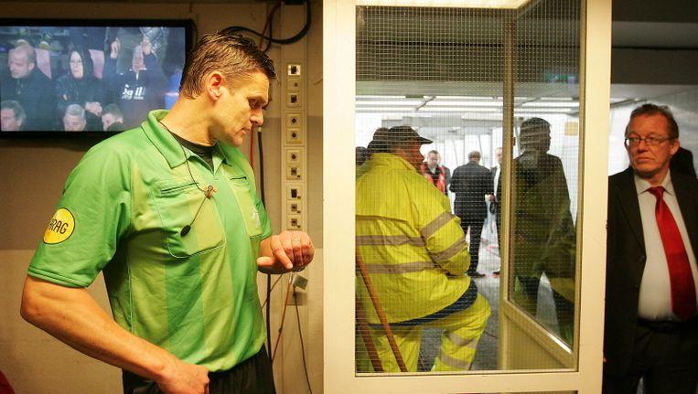 Onweer was spelbreker bij de duels van PSV en De Graafschap. Beeld
