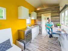 Bredanaar bouwt 'tiny house': 'Ik wil nu vooral van het huisje gaan genieten'