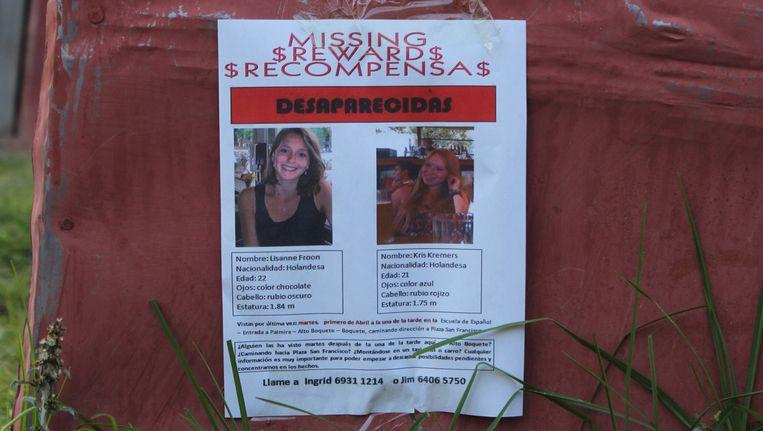 Maandenlang werd er gezocht naar de vorig jaar verdwenen meisjes Lisanne Froon en Kris Kremers. Ze blijken om het leven te zijn gekomen tijdens een wandeltocht in Panama, maar de exacte omstandigheden zijn tot nu toe nog onduidelijk. Beeld epa