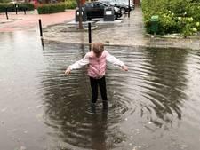 Wolkbreuk zet huizen én straten in Ameide blank: 'Muur van water kwam naar beneden'