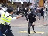 Demonstrant neergeschoten in Hongkong
