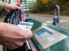 Prijs afvalpas Zeist voorlopig niet omlaag