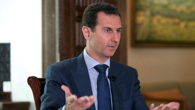 President Assad in 2016. Beeld AP