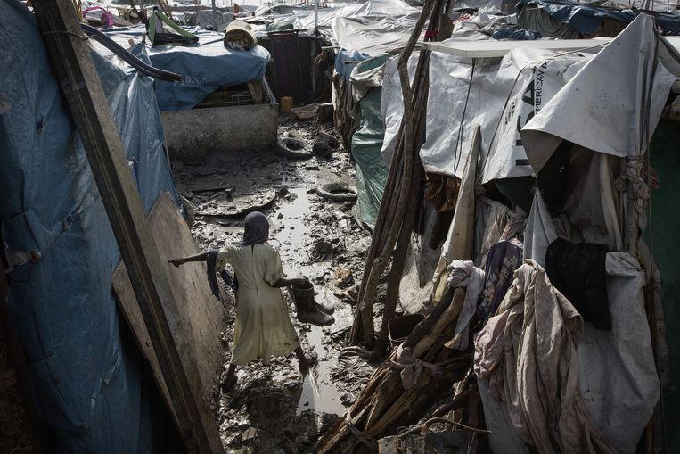 Een sloppenwijk in Zuid-Soedan. Beeld Daniel Rosenthal