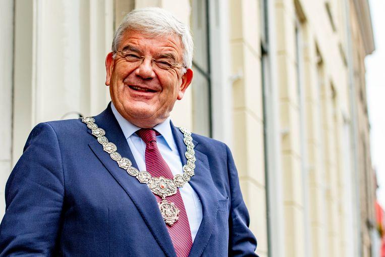 Jan van Zanen is voorgedragen als nieuwe burgemeester van Den Haag. Beeld ROBIN UTRECHT