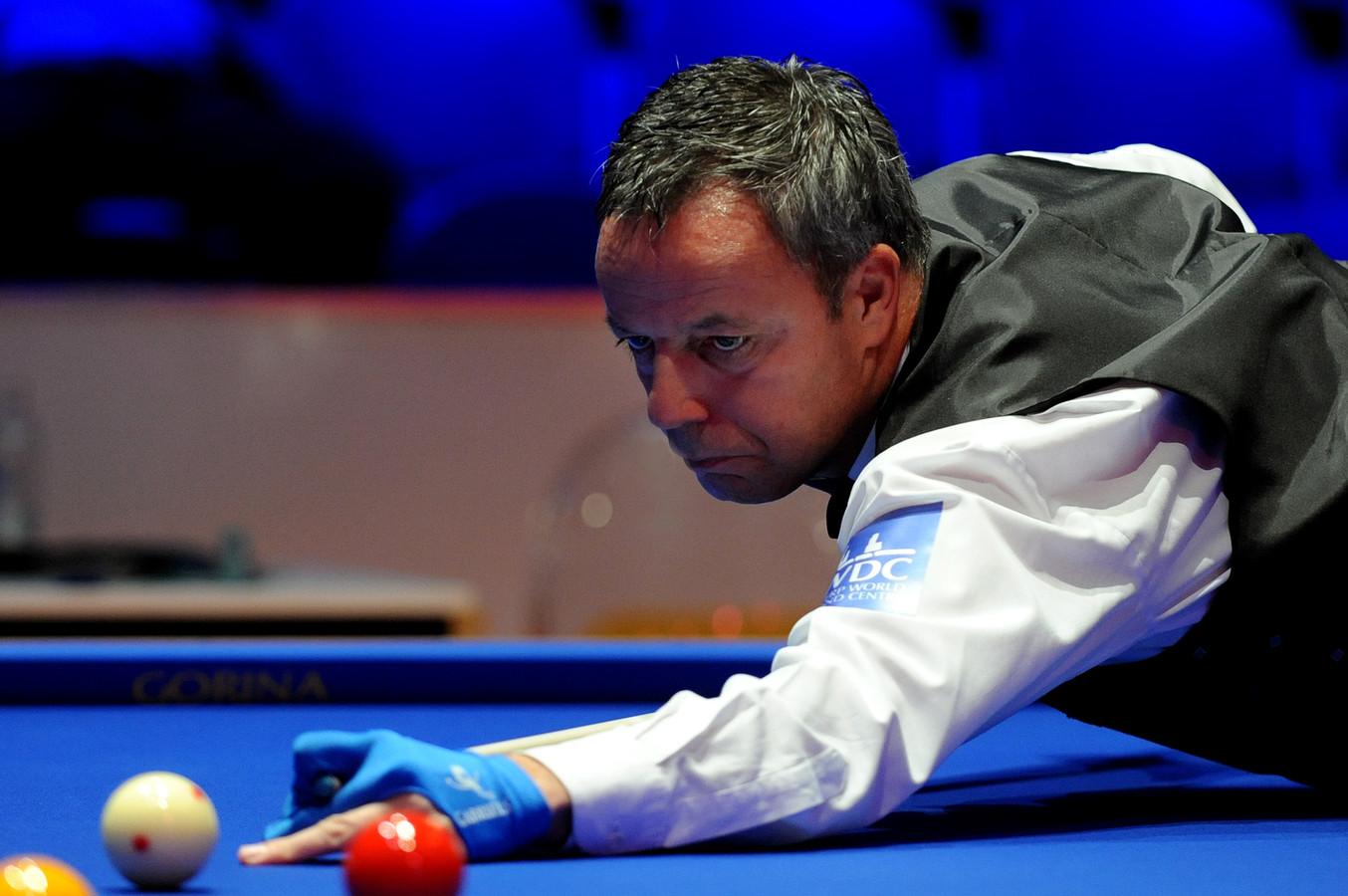 Dick Jaspers kwam in Seoul teveel obstakels tegen, hij werd uitgeschakeld in de LG Cup.