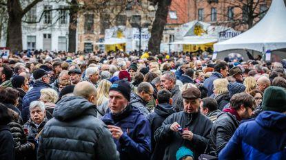 Na de Belgen zijn de Roemenen het vaakst vertegenwoordigd in Brugge, dat blijft stijgen in inwonersaantal